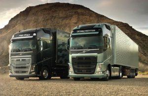 transport trucking website design